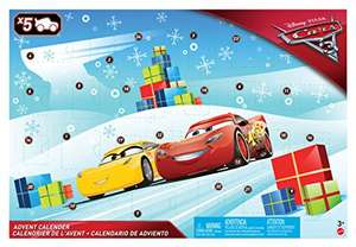 ANTIZYKLISCH! [AMAZON Plusprodukt] Mattel Disney Cars FGV14 - Disney Cars 3 Adventskalender