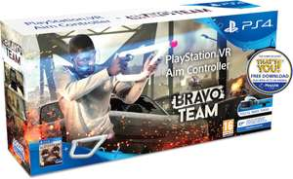 Bravo Team + PlayStation VR Aim Controller (PS4) für 59,52€ (Zavvi)