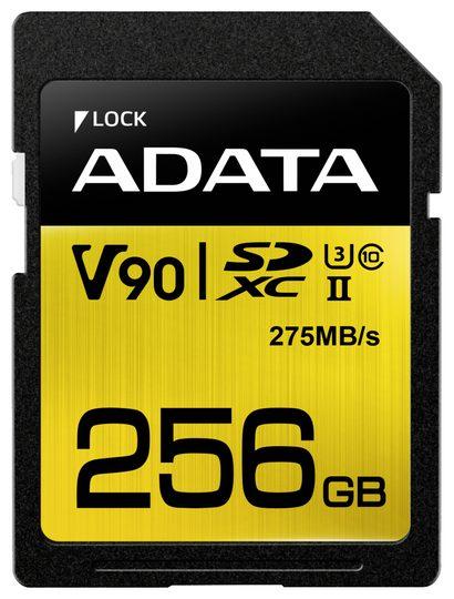 [Neckermnann / Otto] ADATA Premier ONE SDXC 256GB, UHS-II U3, Class 10 (ASDX256GUII3CL10-C)