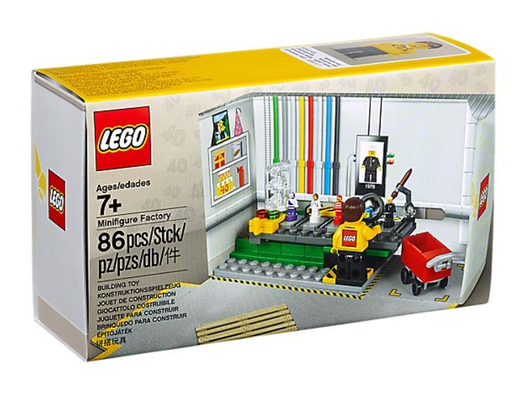 LEGO 5005358: Minifiguren Fabrik Gratis bei Einkäufen von 55 EUR und 5005230 Zanes Kendo-Training-Pod ab 35 EUR