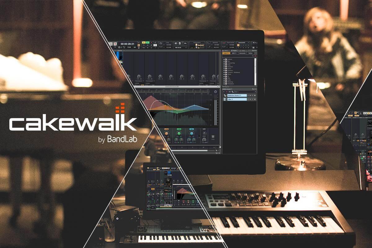 Cakewalk by BandLab (ehemals SONAR) - Audio-DAW für Windows