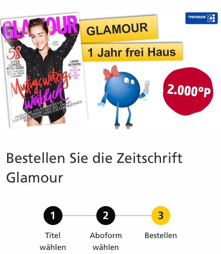 Glamour Zeitschrift