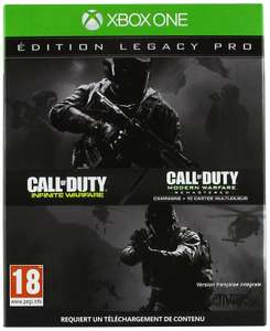 Call of Duty: Infinite Warfare - Legacy Pro Edition (inkl. Season Pass & Steelbook​) (Xbox One) für 22,57€ (Amazon it)