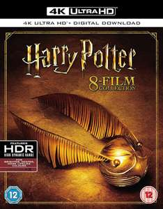 [Zavvi] Harry Potter 8 Film - 4K Ultra HD Box Set Blu-ray