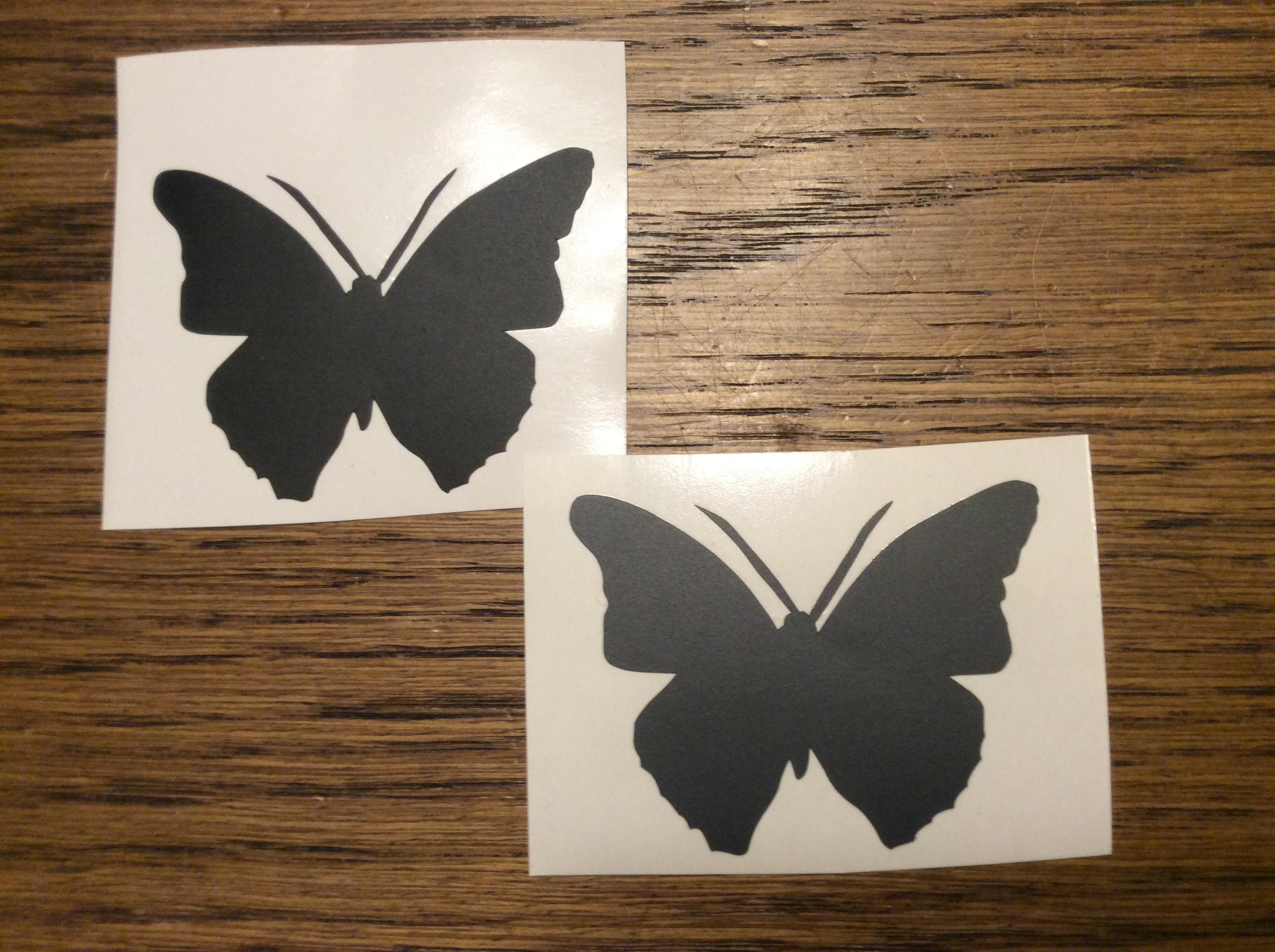 Aufkleber Schmetterling (Wandtatto4all) UPDATE(2): vorbei