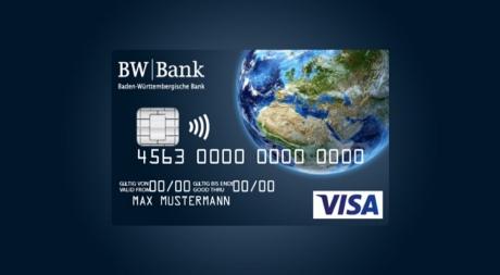 Kostenfreies Girokonto + VISA Karte ohne Auslandsentgelt bis 25 J. (BW-Bank - Giro worldwide)