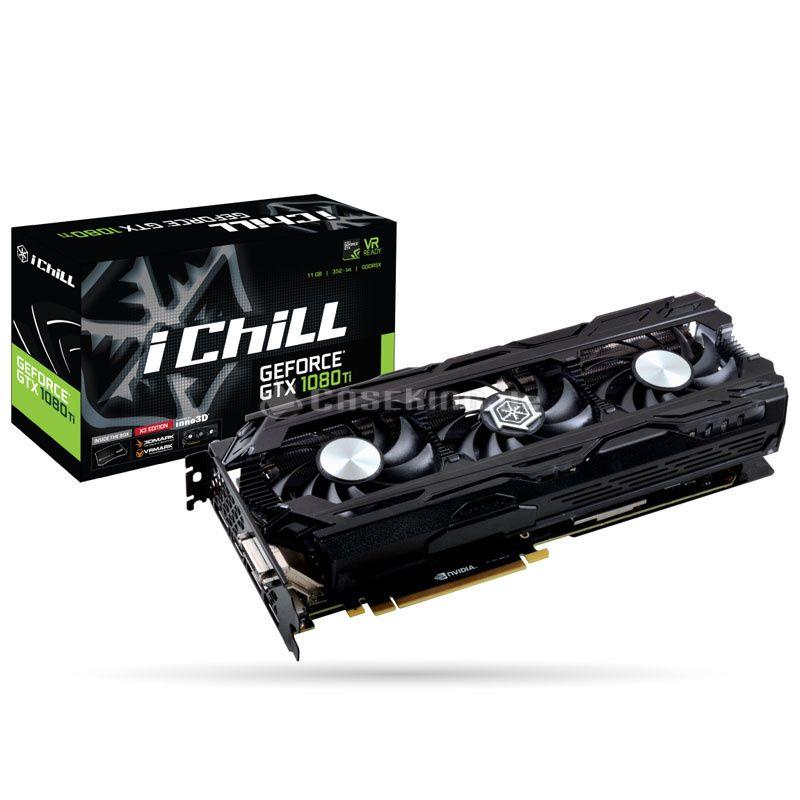 INNO3D GeForce GTX 1080 Ti iChill X3 Ultra, 11264 MB GDDR5X