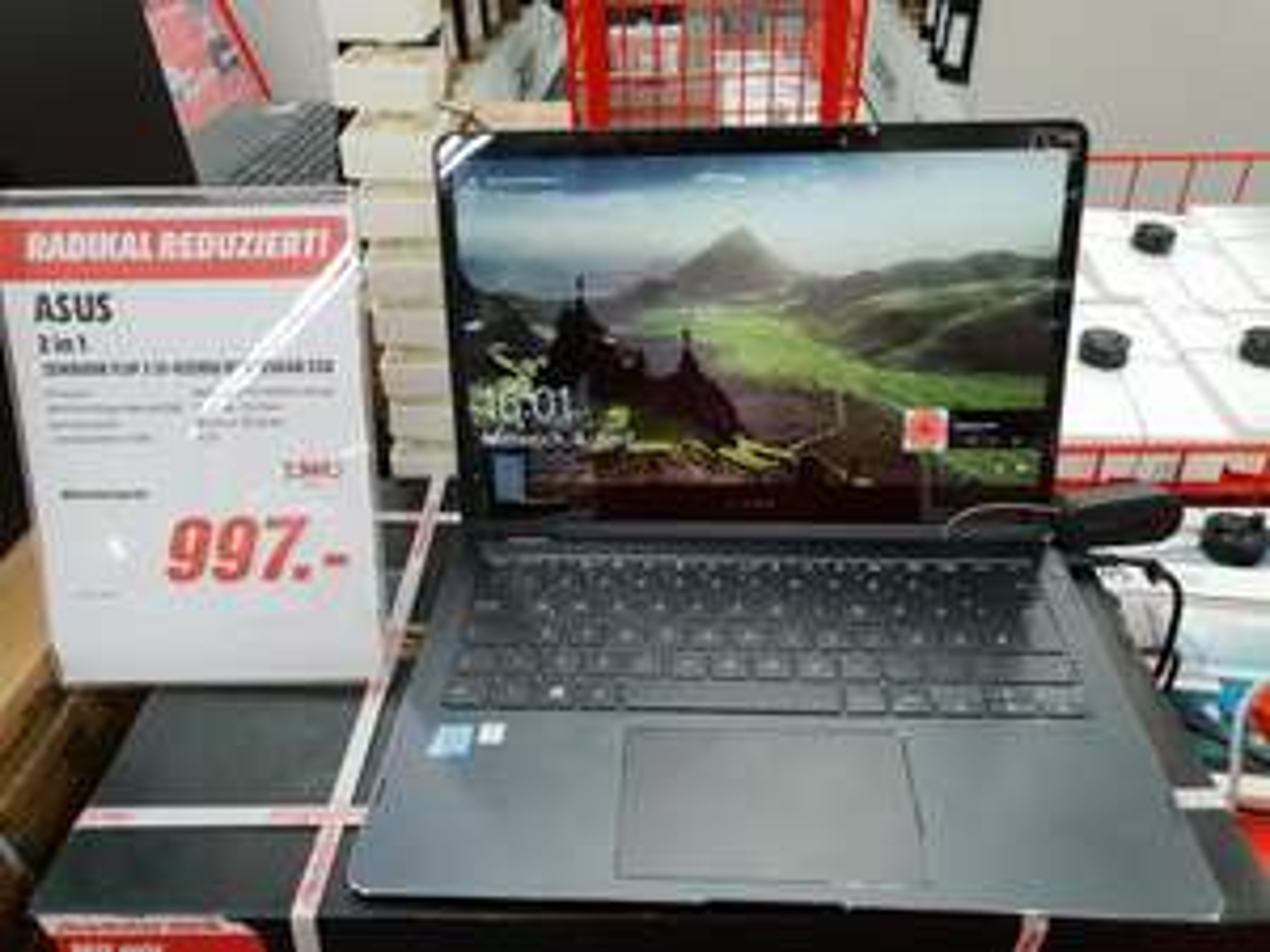 LOKAL BONN ASUS Zenbook Flip S UX370UA-C4207T Convertible 256 GB 13.3 Zoll - Mediamarkt Bonn