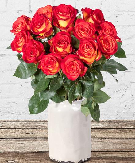 14€ Gutschein für 7€ bei [Valentins] z.B. 14 Rosen für 12,98€ inkl VSK statt 19,98€