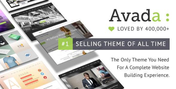 Avada WP Theme für 29 $ (statt 60 $) | Responsive Multi-Purpose Theme
