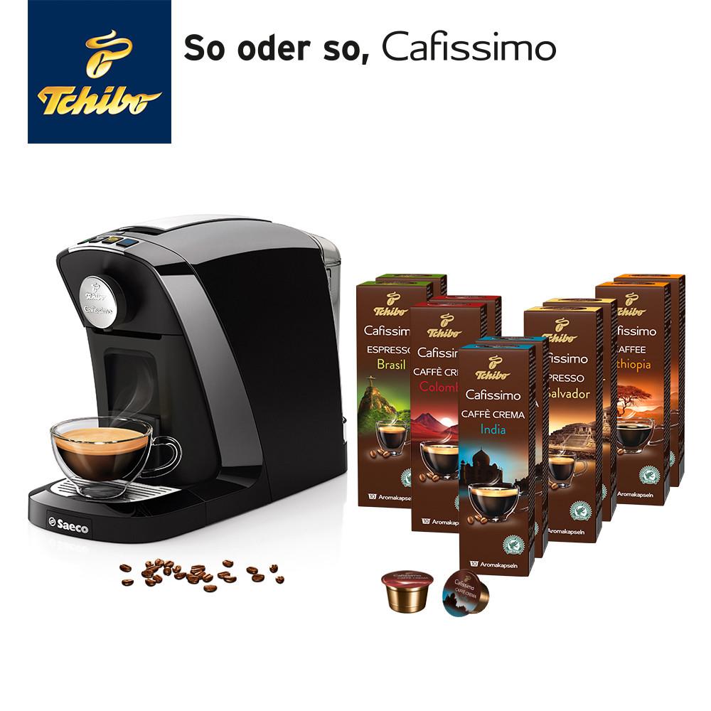 Tipp: Tchibo Tuttocaffè Nero inkl. 100 Kaffee-Kapseln