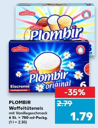 Plombir Eis für 1.79€ ab Donnerstag den 12.04.18 (Kaufland)