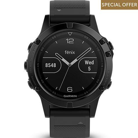 Garmin Smartwatch Fenix 5 Saphir