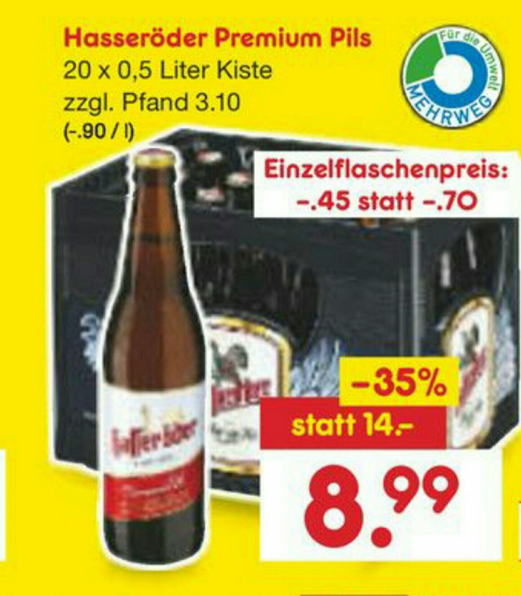 [Netto Marken-Discount + Netto City]Hasseröder Premium Pils