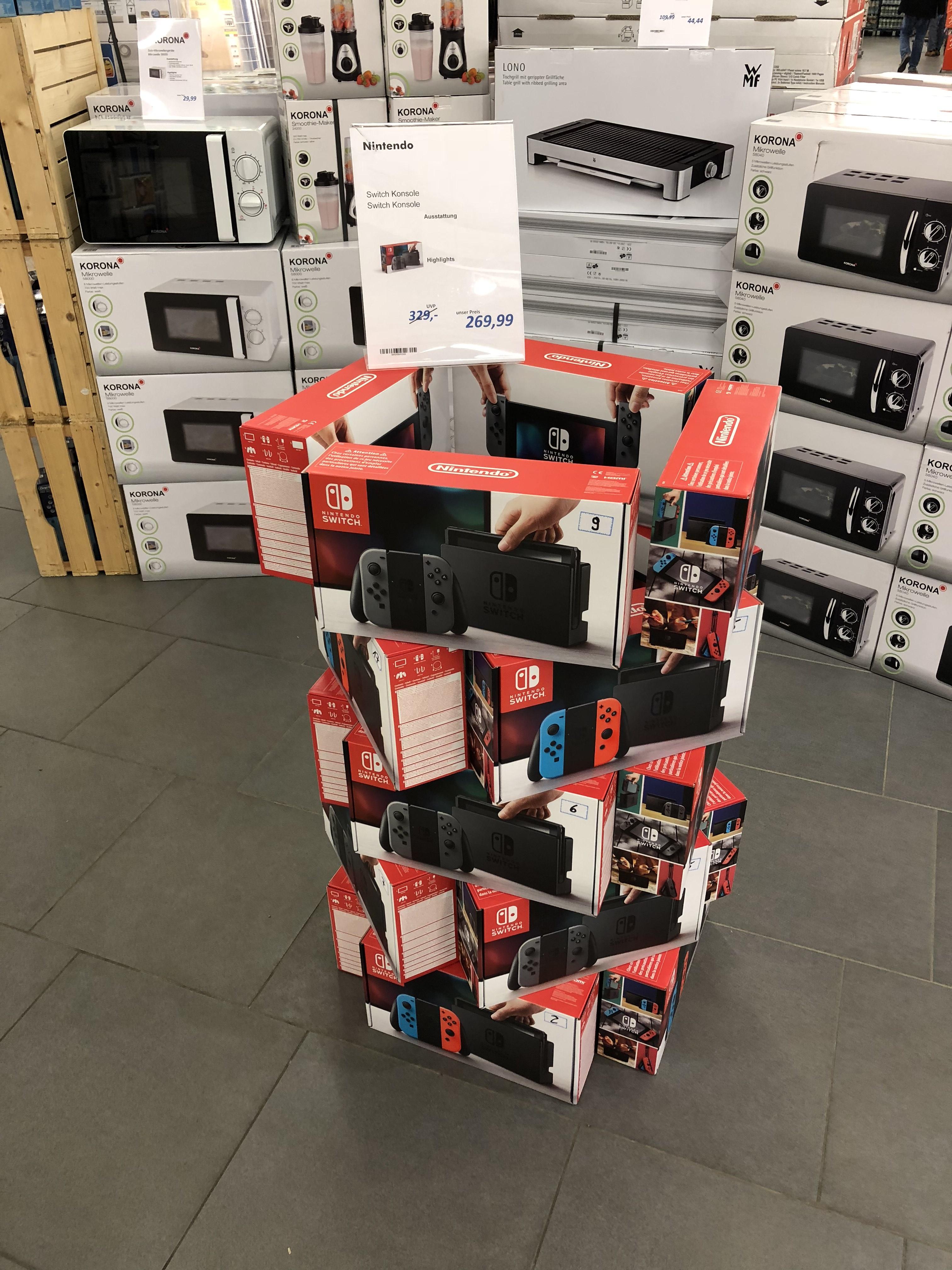 [Lokal [Marktkauf Bielefeld-Baumheide] Nintendo Switch