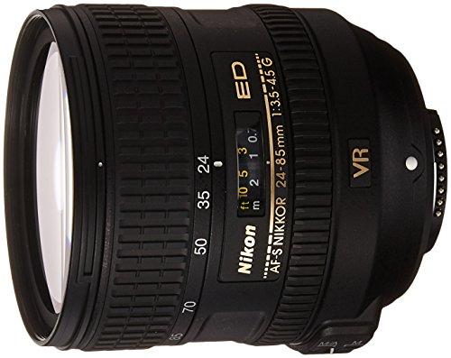 Nikon AF-S Nikkor 24-85mm f3.5-4.5 G ED VR für 368,89€ [Amazon.es]