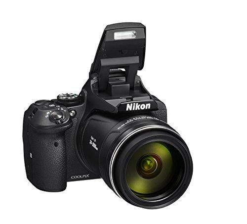 Nikon Coolpix P900 Digitalkamera (16 Megapixel, 83-fach optischer Megazoom, 7,5 cm (3 Zoll) RGBW-Display mit 921.000 Pixel, Full-HD-Video, Wi-Fi, GPS, NFC, bildstabilisiert) schwarz für 451,94€ [Amazon.es]