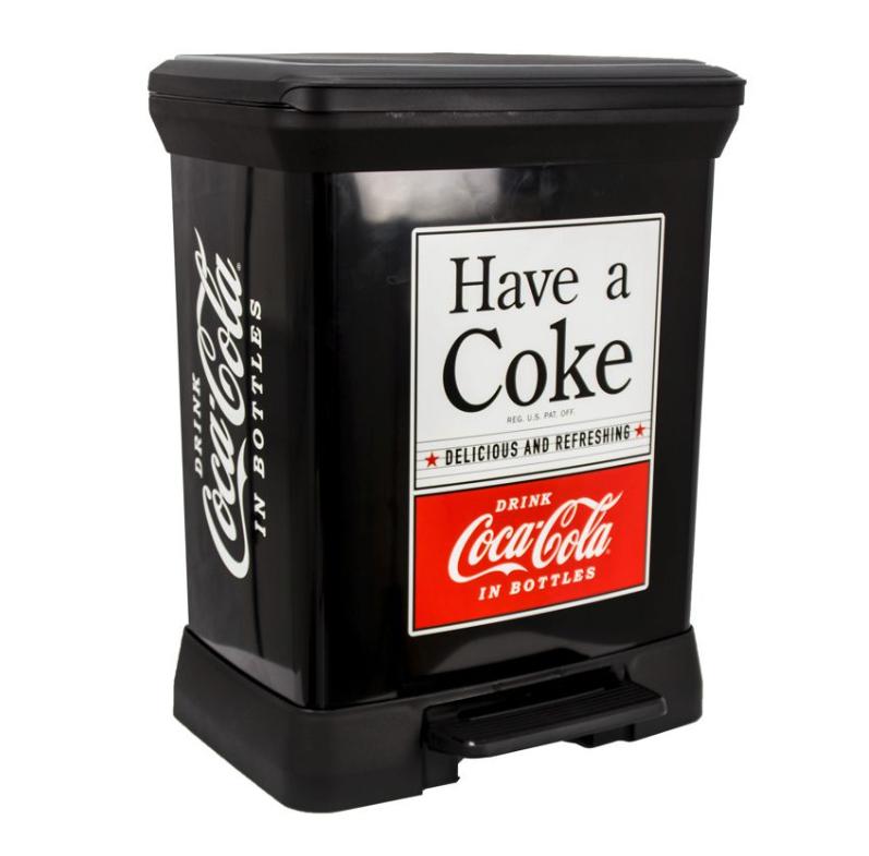 Aufbewahrungsboxen & Mülleimer von Curver bei top12, z.B. Curver 02164-C14-04 Abfalleimer Coca Cola
