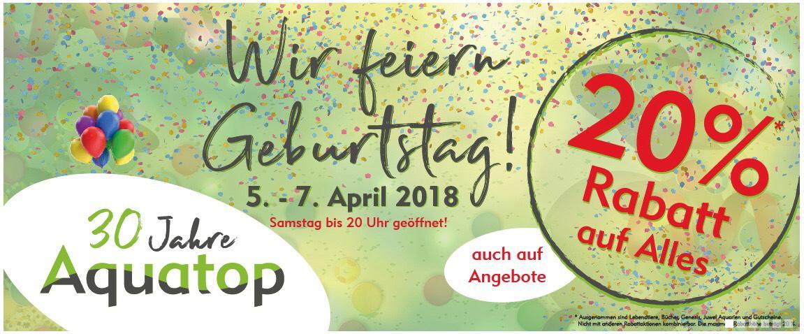 Lokal - 20 % Rabatt auf alles im Aquatop in Würselen