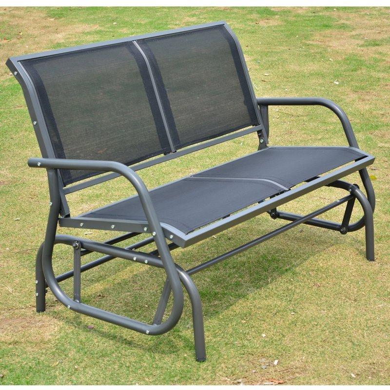 [Wayfair] Outsunny 2-Sitzer Schaukelbank (132cm breit) aus Stahl
