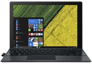 "[Saturn] Acer Switch 5 (SW512-52-5819) + Acer Active Stift 12"" QHD IPS Convertible Notebook Intel Core i5-7200U 8GB 256GB SSD Win10"