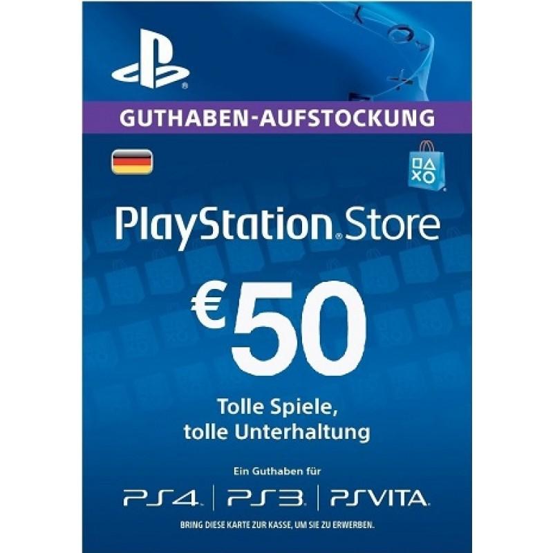 PSN Guthaben 50€ (DE)