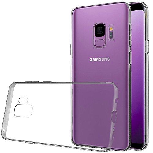 2x Premium TPU Case für SAMSUNG Galaxy S9+ mit EDGE+ Kantenschutz [Amazon Prime]