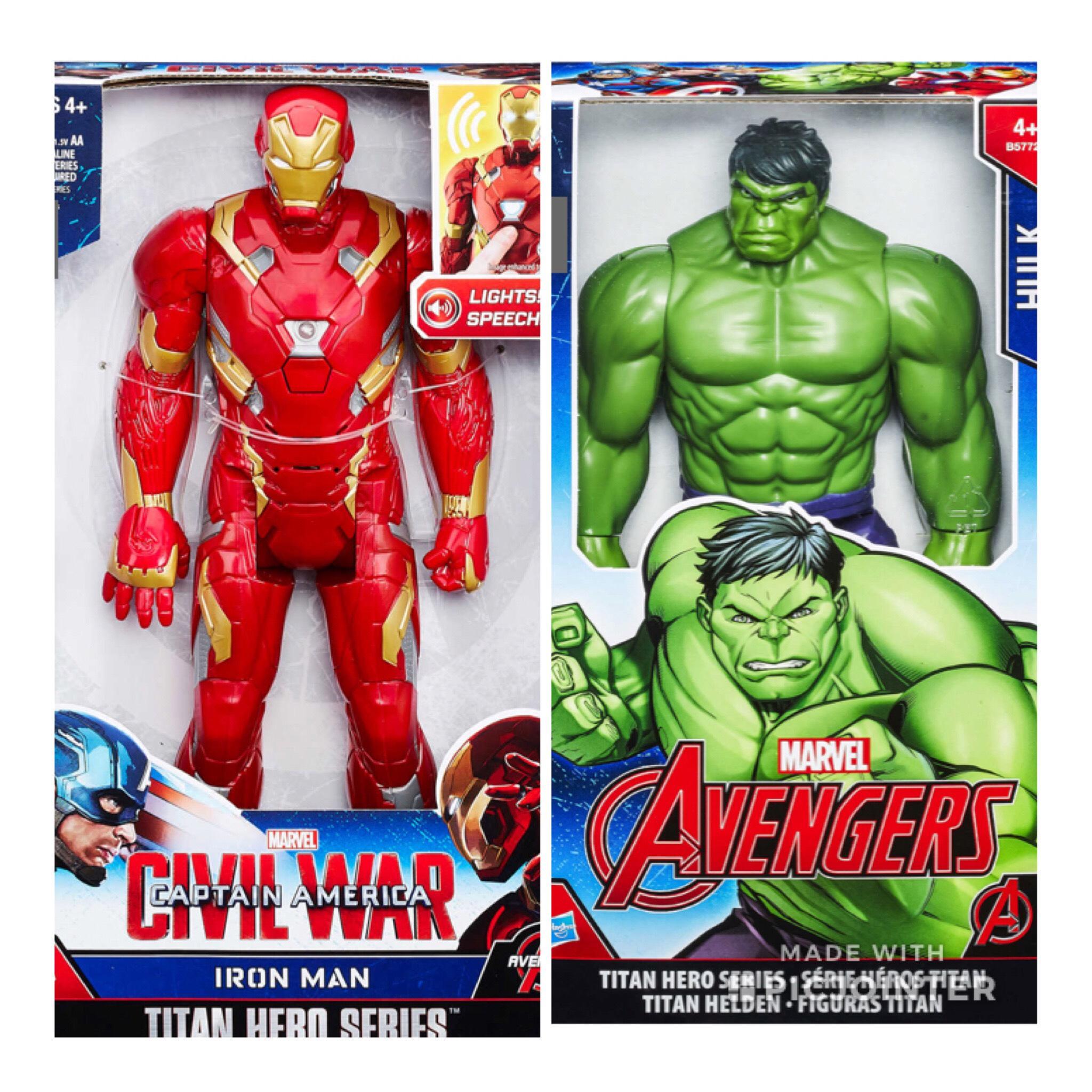 Kaufland (lokal Leipzig?!) ab 12.04, Hasbro Hulk und Iron Man Figur für 9,99€