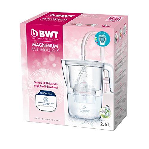 ( Amazon Plus )BWT Easy-Fit Vida Wasserfilterkaraffe aus Kunststoff, 2.6L