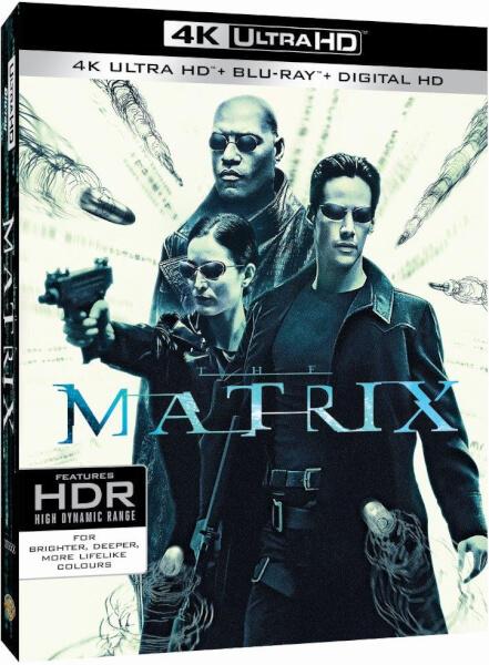 Matrix in 4K (4K/BluRay/Digital)