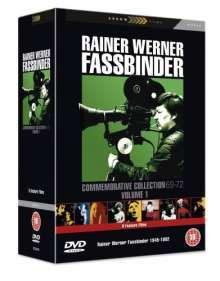 Rainer Werner Fassbinder DVD-Collection 1969-1972 (UK-Import)