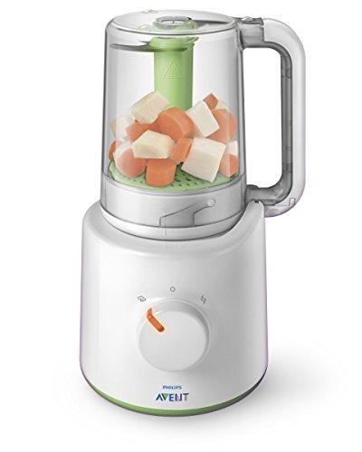 [amazon]  Philips Avent SCF870/20 2-in-1 Babynahrungszubereiter (Dampfgarer und Mixer)