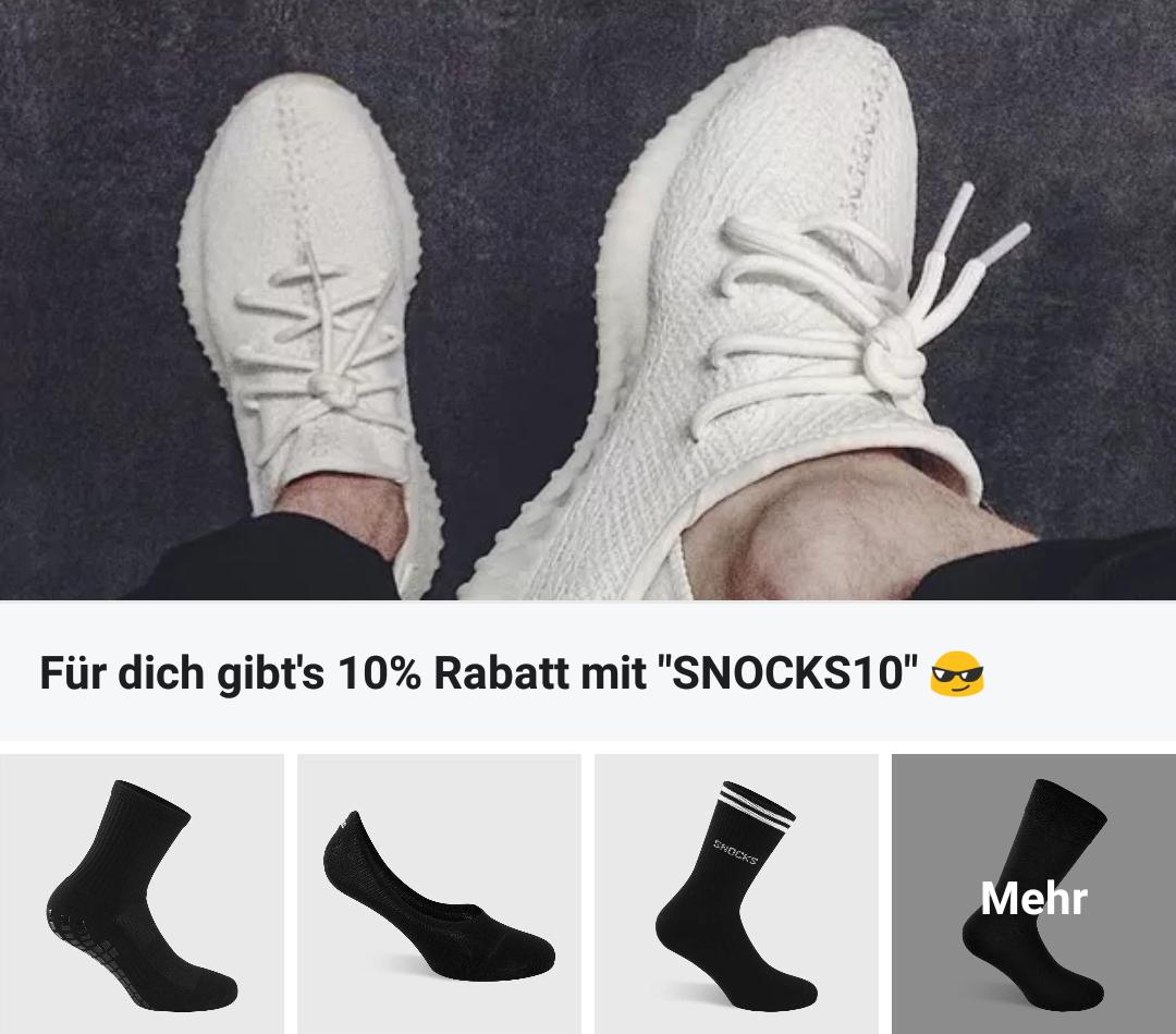 Nicht rutschende (Sneaker-) Socken & mehr