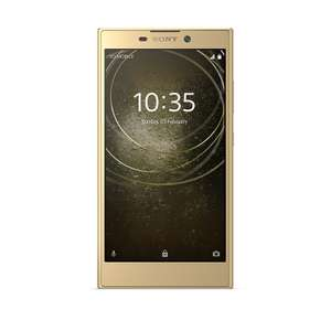 Sony XPERIA L2 Smartphone (13,97 cm (5,5 Zoll) Full HD Display, 32 GB Speicher, 3 GB RAM, Android 7.1) gold