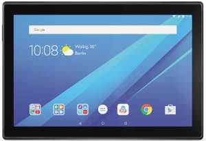LENOVO Tab 4 10 16 GB LTE 10.1 Zoll Tablet Slate Black, Qualcomm Snapdragon (MSM8917 QC 64-Bit),