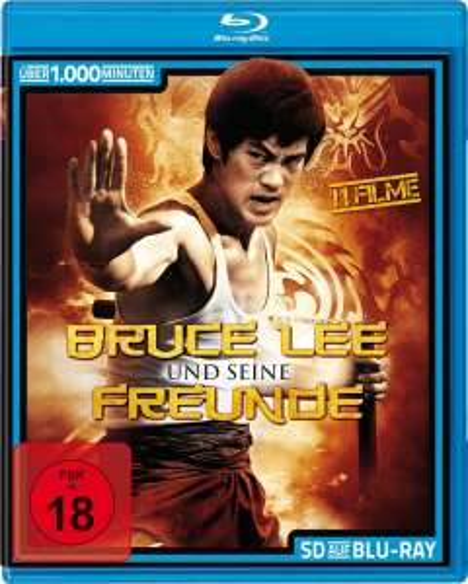 Bruce Lee und seine Freunde (11 Filme) (Bluray) für 6,99€ [Amazon Prime]