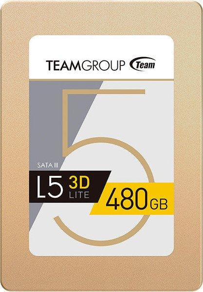 TeamGroup L5 LITE 3D SSD mit 480GB für 89€ [Computeruniverse]