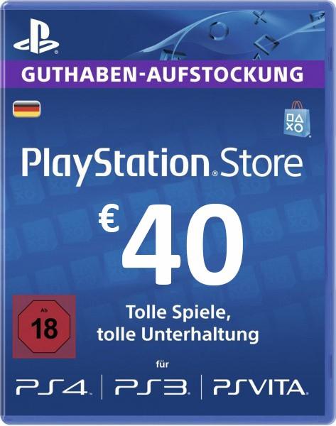 PSN Guthaben 40€ (DE)