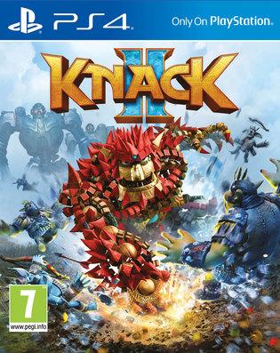 Knack 2 (PS4) + Dynamic & Static Themes DLC + Blue Knack Sackboy Keyring für 18,15€ (ShopTo)