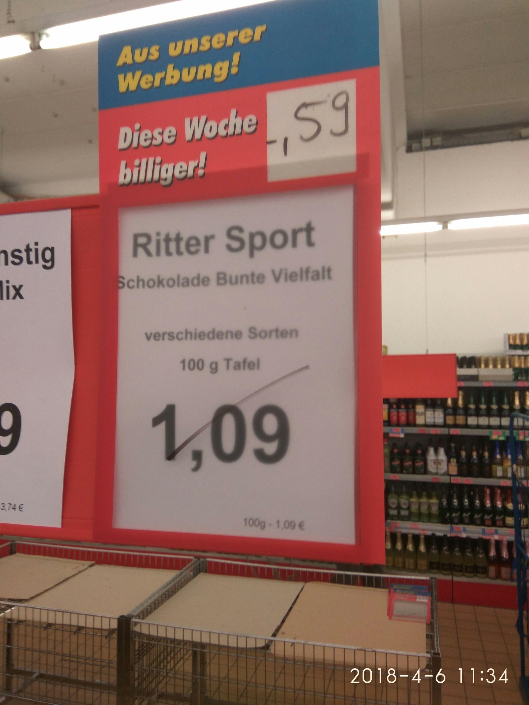 Rittersport Treff 3000 Saarburg Lokal?