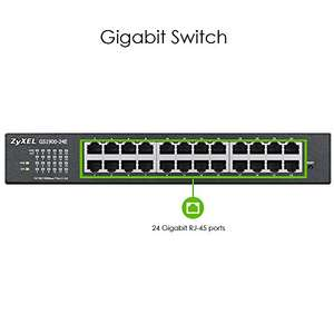 Amazon: Zyxel 24-Port Gigabit Web GS1900 24E / Smart Managed Switch