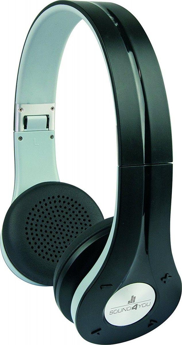Schwaiger KH210BT Bluetooth On-Ear Kopfhörer / Headset (schwarz)