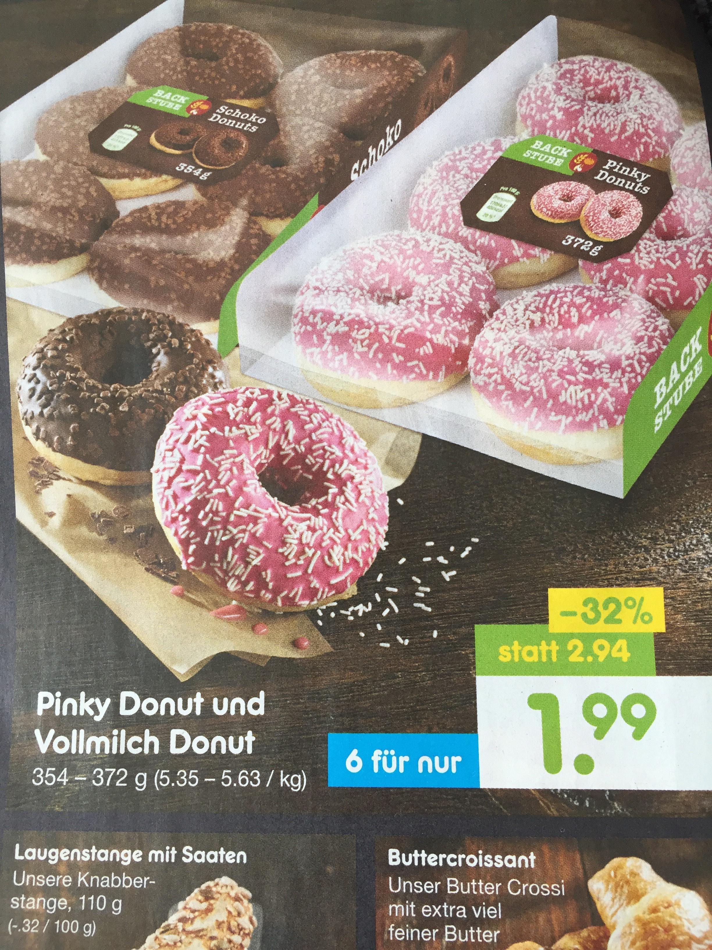 Netto MD haut den 6er Pack Donuts für 1,99€ raus