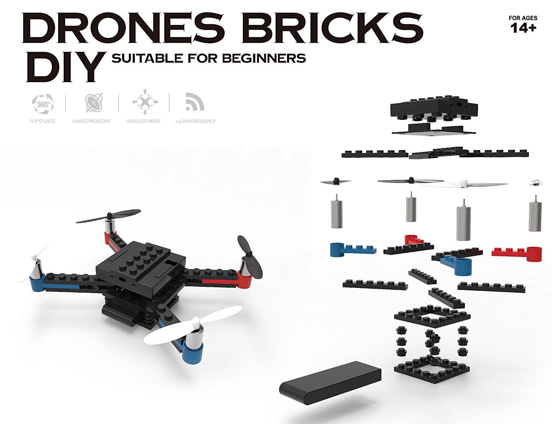 "[MyMemory UK] ""Lego"" DIY Drone"