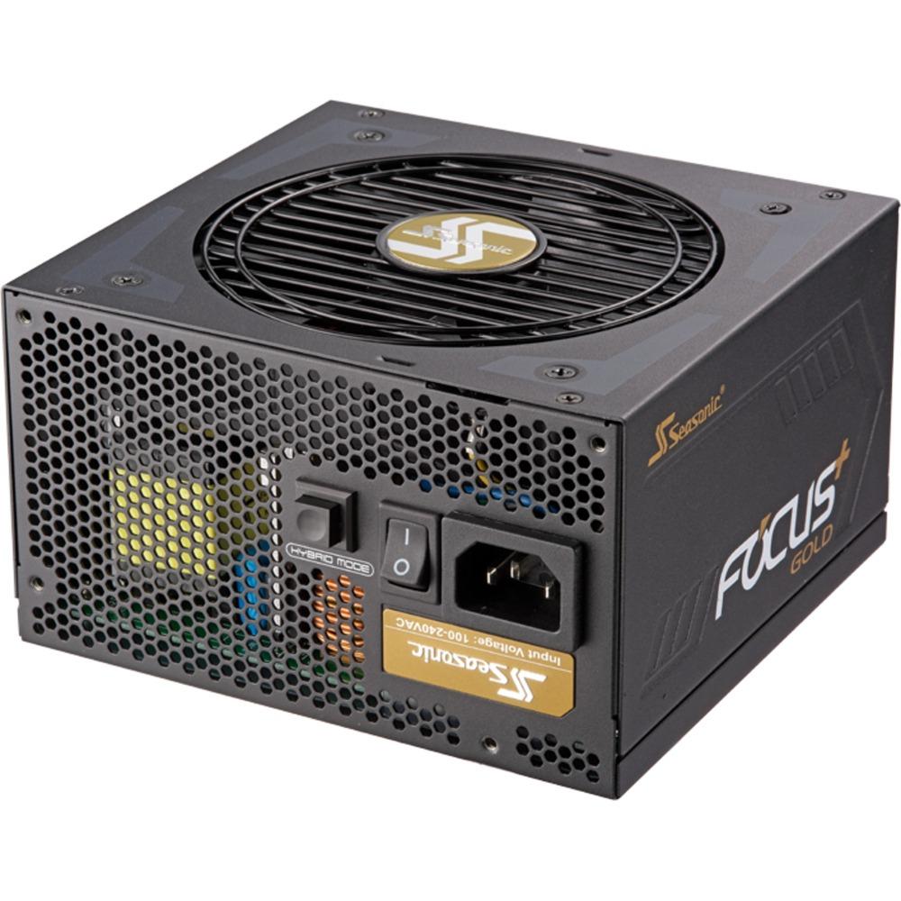 Seasonic Focus Plus Gold 550W Netzteil (vollmodular, semi-passiv, DC-DC, 80+ Gold, 10 Jahre Garantie) für 65,80€ [Rakuten]