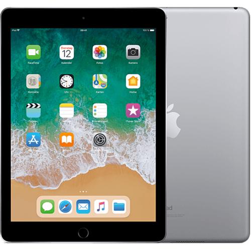 Apple iPad (6. Generation, 2018) WiFi 32GB Space Grau für 297,46 Euro