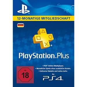 Playstation Plus (PS+) 365 Tage (DE)