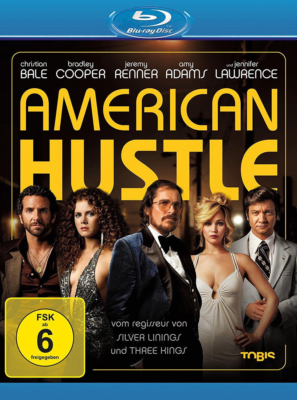 American Hustle (Blu-ray) für 4,85€ & In Time Deine Zeit läuft ab (Blu-ray) für 3,68€ (Dodax)