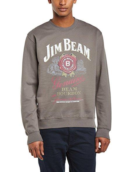 [Amazon Plus] Jim Beam Herren Sweatshirt für 5,98 blau bzw. 6,75€ in grau (nur S)