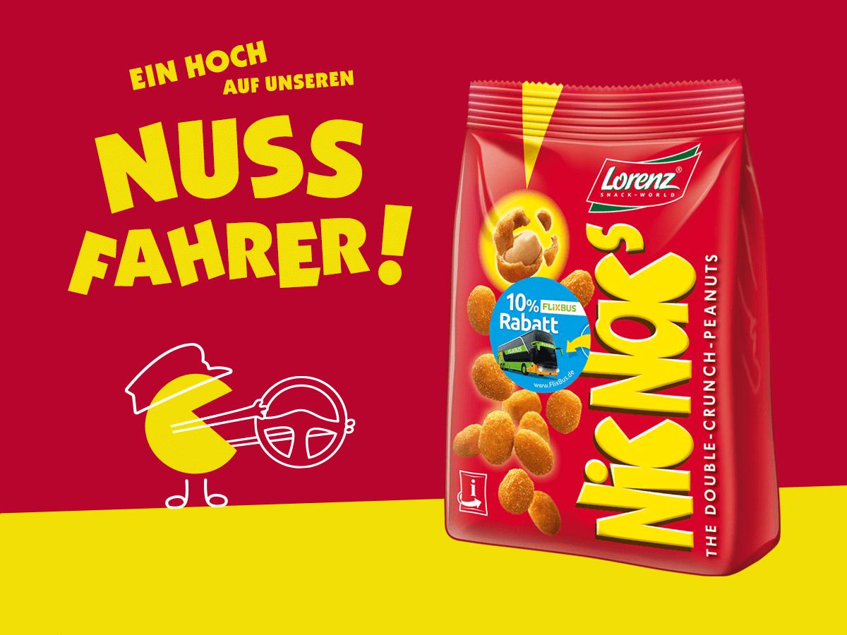 [ Flixbus ] 10% Flixbus GS @ Nic Nacs Aktionspackung